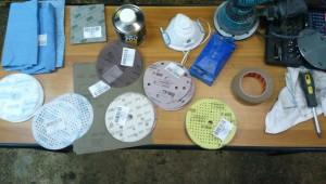 инструмент и материал для полировки дисков