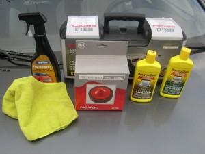 материалы и инструмент для защитной полировки