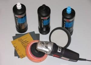 материалы и инструмент для полировки кузова автомобиля после покраски