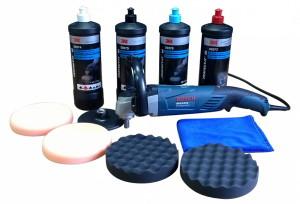 оборудование и материалы для полировки автомобиля
