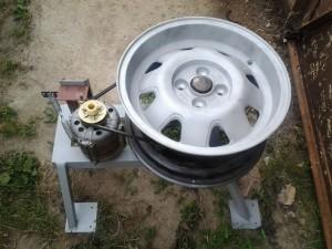 станок для полировки алюминиевых дисков