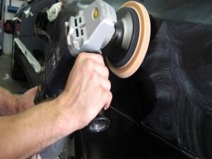 Технология полировки кузова автомобиля полировальной пастой