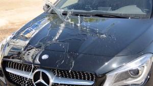 Результат полировки кузова нового автомобиля