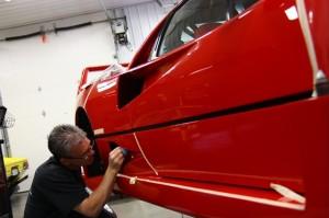 Цветная полировка кузова автомобиля своими руками