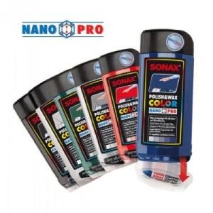 Sonax Polish Wax Color Nano Pro - цветная полироль для цветной полировки