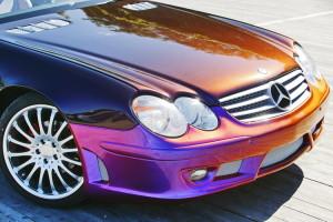 Использования для покраски автомобиля акриловых автоэмалей
