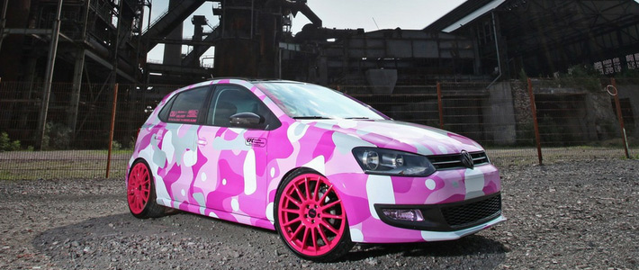 Покраска автомобиля в камуфляж химических цветов