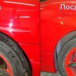 Правильная технология точечной покраски автомобиля