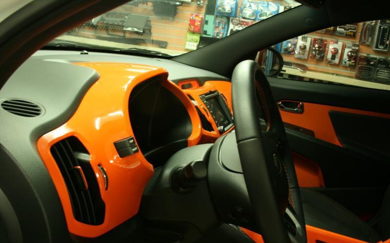 Покраска салона автомобиля своими руками видео