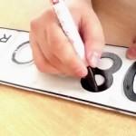 Как правильно покрасить автомобильный номер