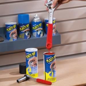 Выбор и расфасовка краски Plasti Dip