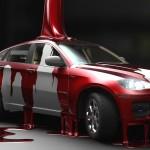 Покраска автомобиля: расход и правильность разбавления краски