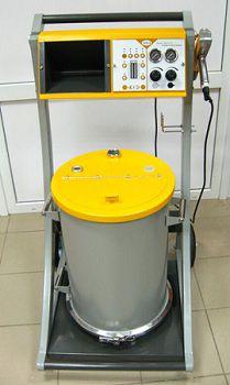 Установка для напыления порошковых красок Тесла 201