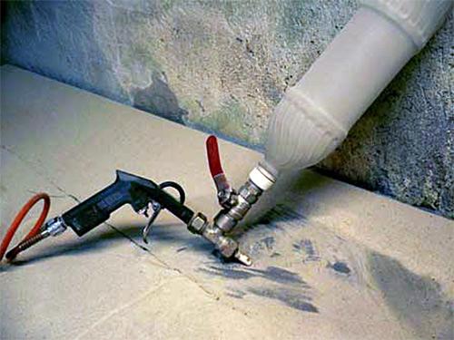 Самый простой пескоструйный аппарат своими руками