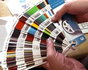 Как узнать код краски по вин - коду