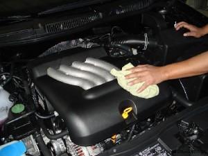 Как помыть двигатель автомобиля своими руками в домашних условиях