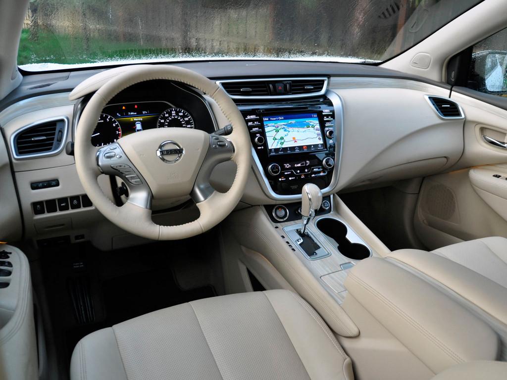 Новый Nissan Murano SE 2016 - технические характеристики, фото