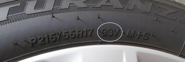 Что означает индекс нагрузки шин