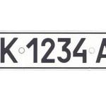 Номерные знаки автомобилей по регионам Украины