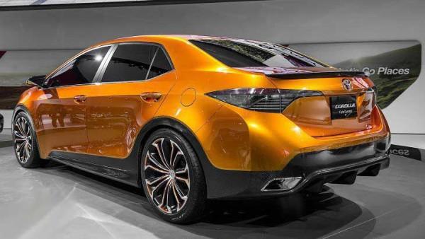 Новая Toyota Corolla 2017 года - фото