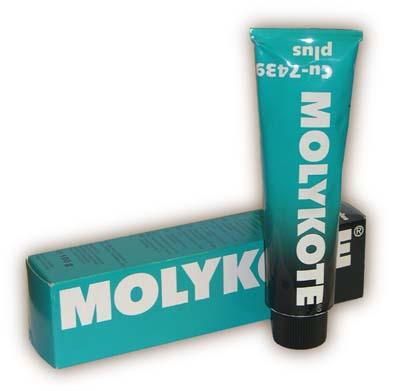 Смазка для направляющих суппортов Molykote Cu-7439 Plus - отзывы, цена