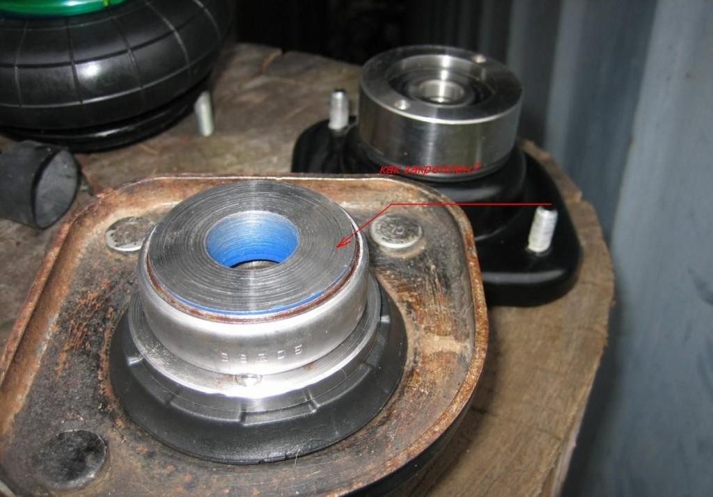 Как заменить опорный подшипник на форд фокус 1