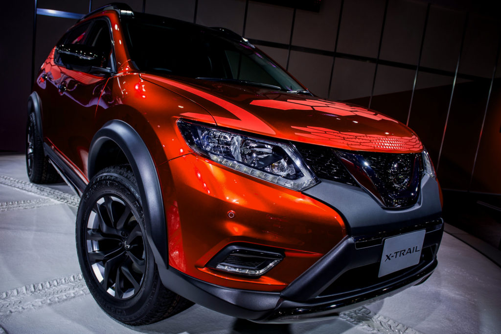 2018 Nissan X-trail Redesign