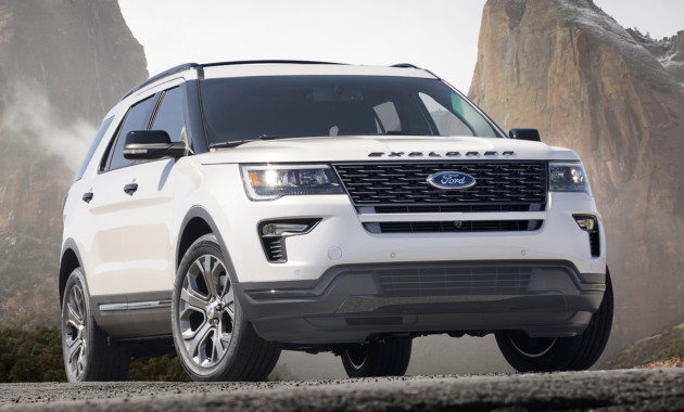 New 2018 Explorer strengthens Ford's most well-known SUV, giving customers upgraded style, technology improvements and more choice, including an available 4G modem with standard new Wi-Fi hotspot for up to 10 devices, plus SYNC® 3