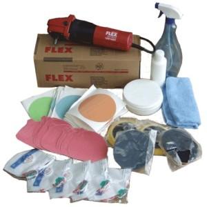 Материалы и инструмент для полировки стекол автомобиля