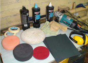 инструмент и материалы для восстановительной полировки