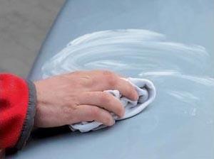 нанесение защитной полировки на кузов автомобиля