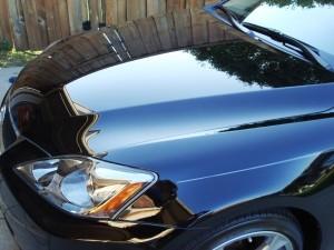 Защитная полировка нового автомобиля