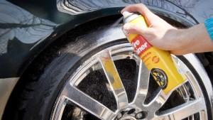 Полировка автомобильных шин