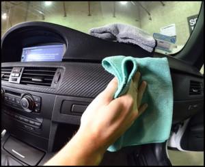 Полировка пластика автомобиля пастой ГОИ