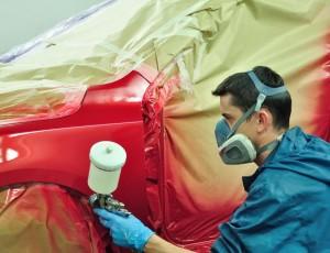 Нюансы точечной покраски кузова автомобиля