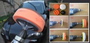Полировка кузова автомобиля обычной эдектродрелью