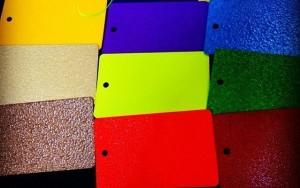 Разновидности цветов краски раптор U - POL