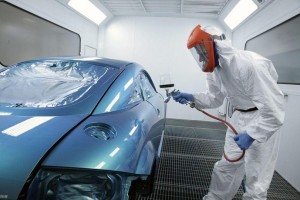 Технология покраски автомобиля ксераликом