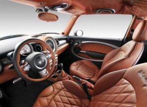 Кожаный салон автомобиля - стильный и современный имидж