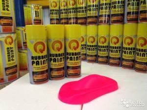 Жидкий винил Rubber Paint для покраски торпеды автомобиля