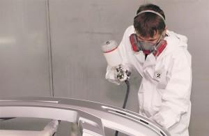 Технология покраски бампера автомобиля своими руками