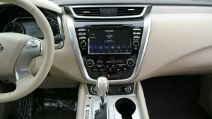 Новый Nissan Murano 2016 - музыкальный проигрыватель, цены, фото
