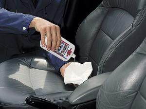 Химчистка кожаных сидений автомобиля своими руками